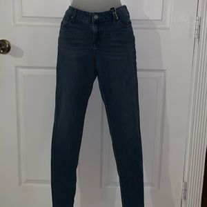 $15 NY&C Skinny Straight Leg Denim Jeans, size 12